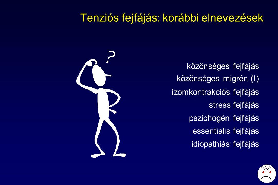 Tenziós fejfájás: korábbi elnevezések