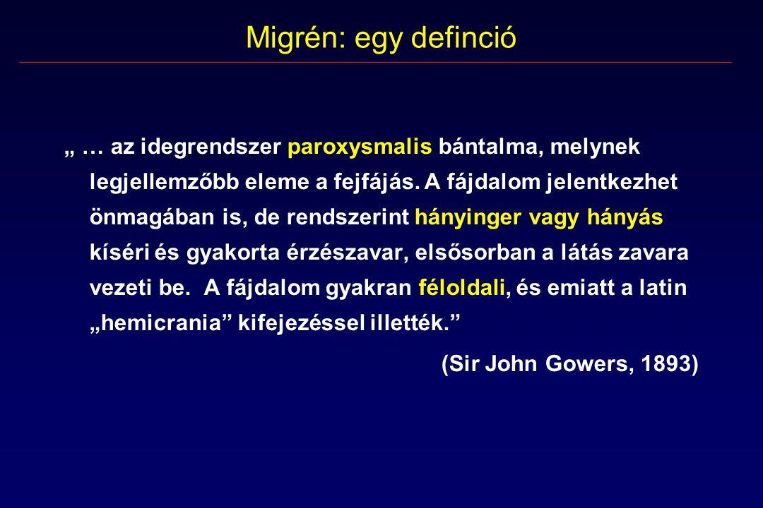 Migrén: egy definció