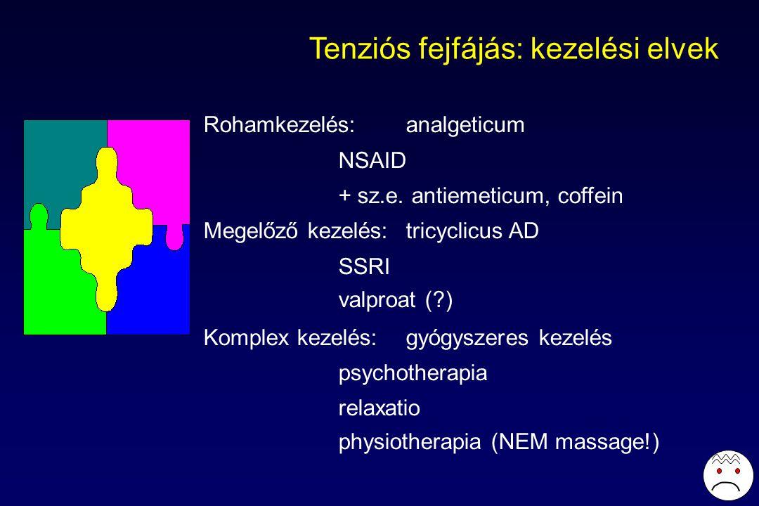 Tenziós fejfájás: kezelési elvek