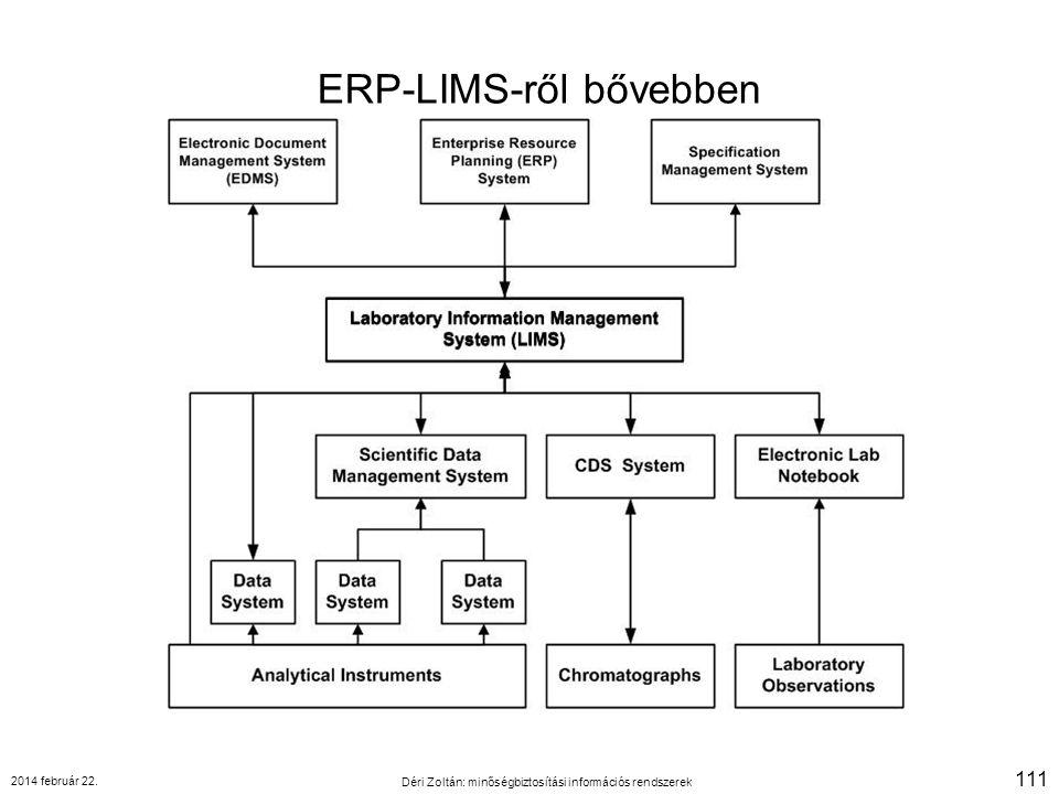 ERP-LIMS-ről bővebben