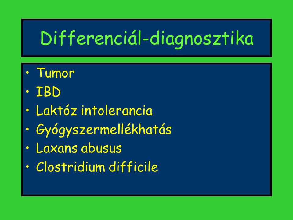 Differenciál-diagnosztika