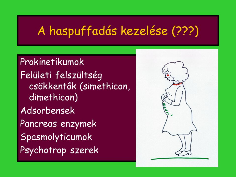 A haspuffadás kezelése ( )