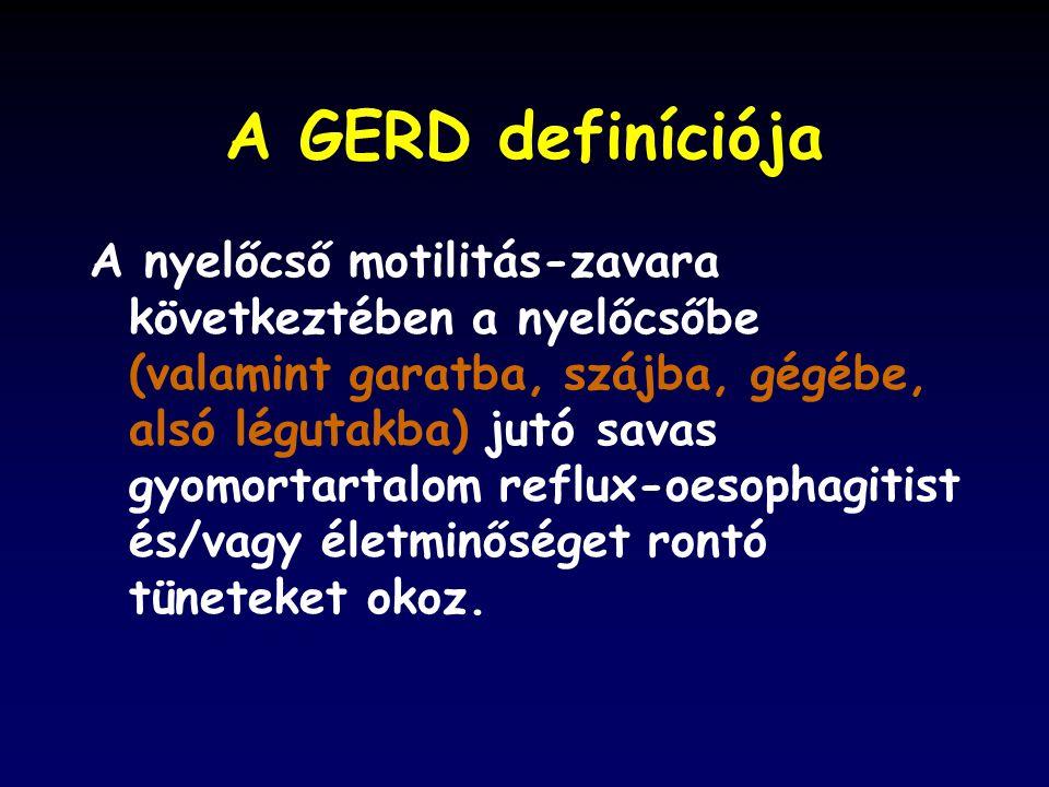 A GERD definíciója