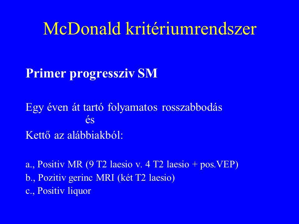 McDonald kritériumrendszer