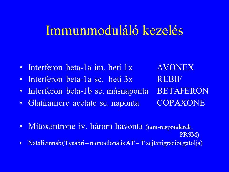 Immunmoduláló kezelés