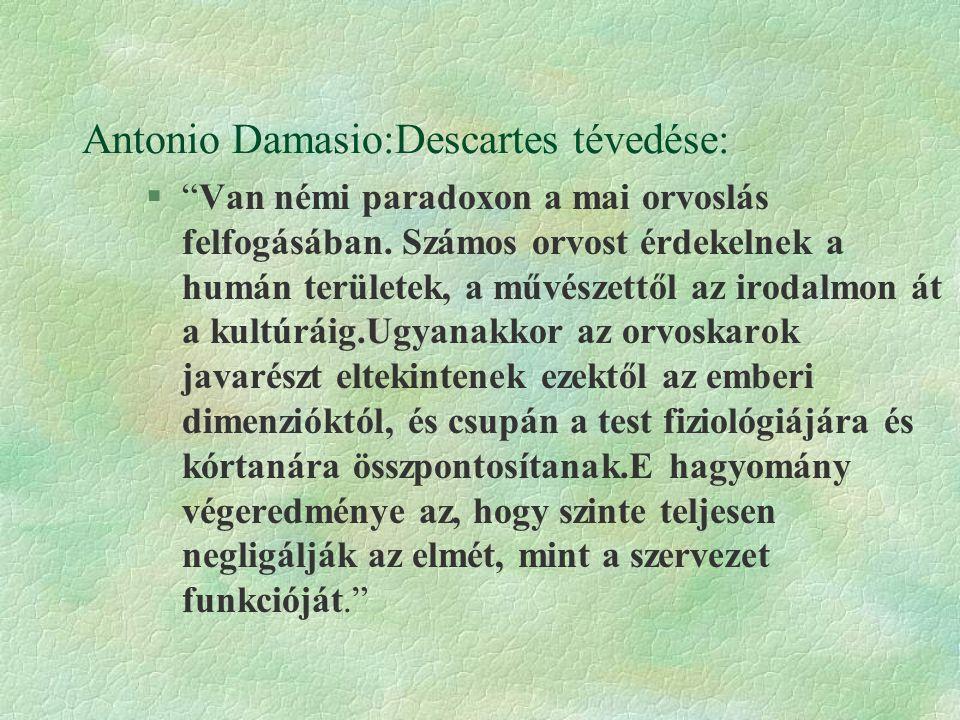 Antonio Damasio:Descartes tévedése: