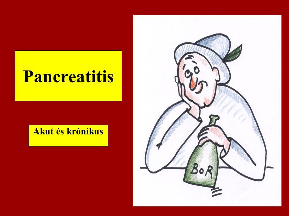 Pancreatitis Akut és krónikus
