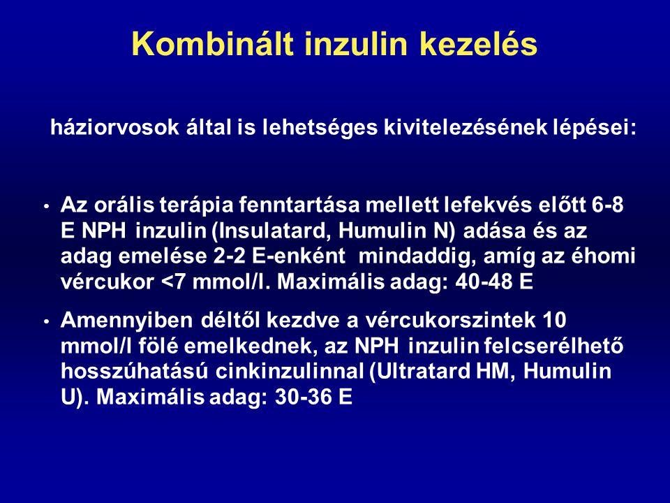 Kombinált inzulin kezelés