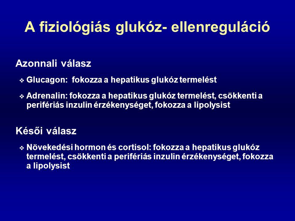 A fiziológiás glukóz- ellenreguláció