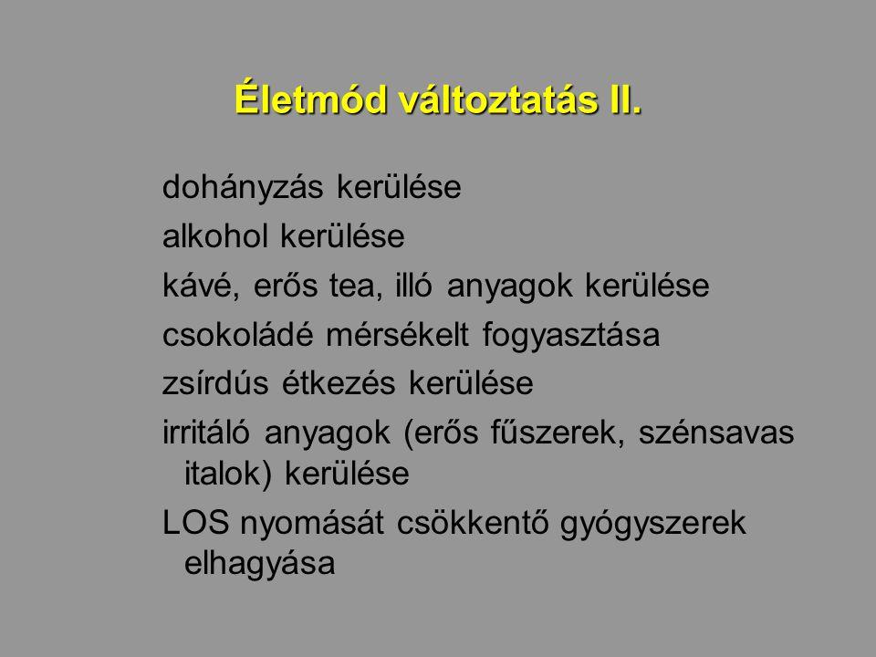 Életmód változtatás II.