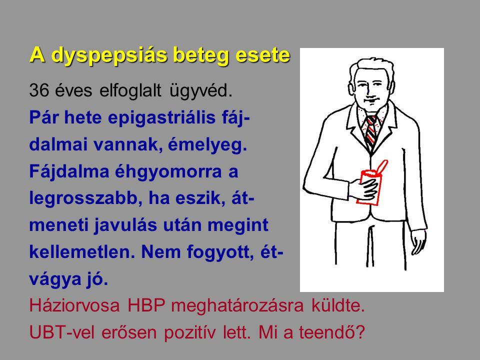 A dyspepsiás beteg esete