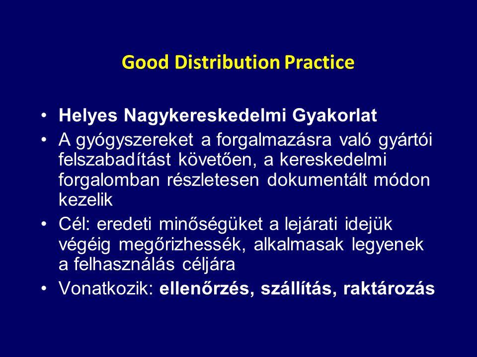 Good Distribution Practice