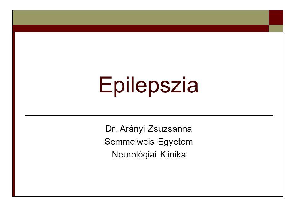 Dr. Arányi Zsuzsanna Semmelweis Egyetem Neurológiai Klinika