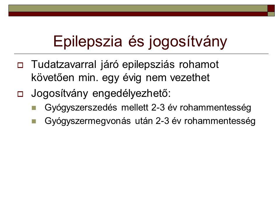 Epilepszia és jogosítvány