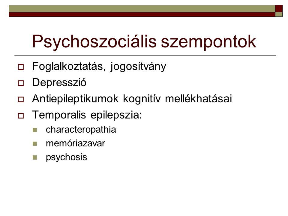 Psychoszociális szempontok