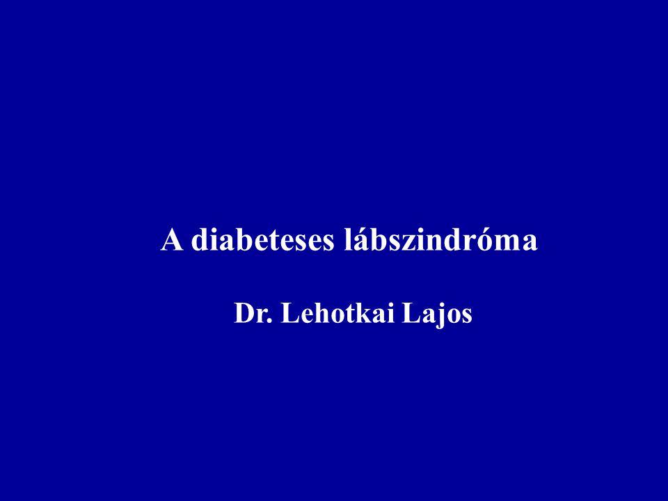A diabeteses lábszindróma
