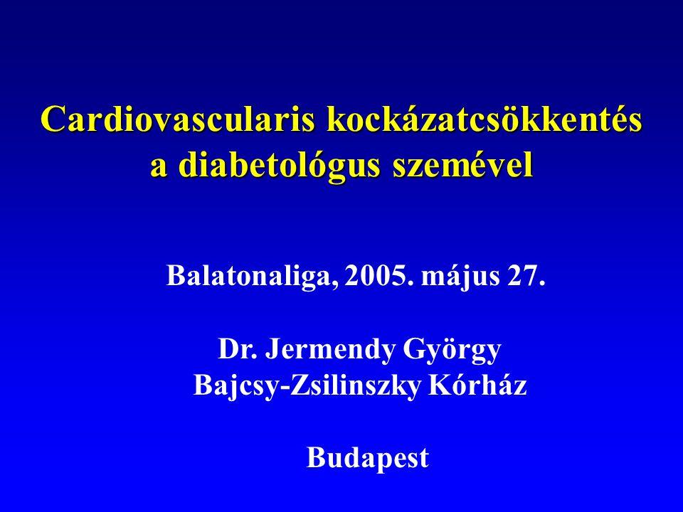 Cardiovascularis kockázatcsökkentés a diabetológus szemével