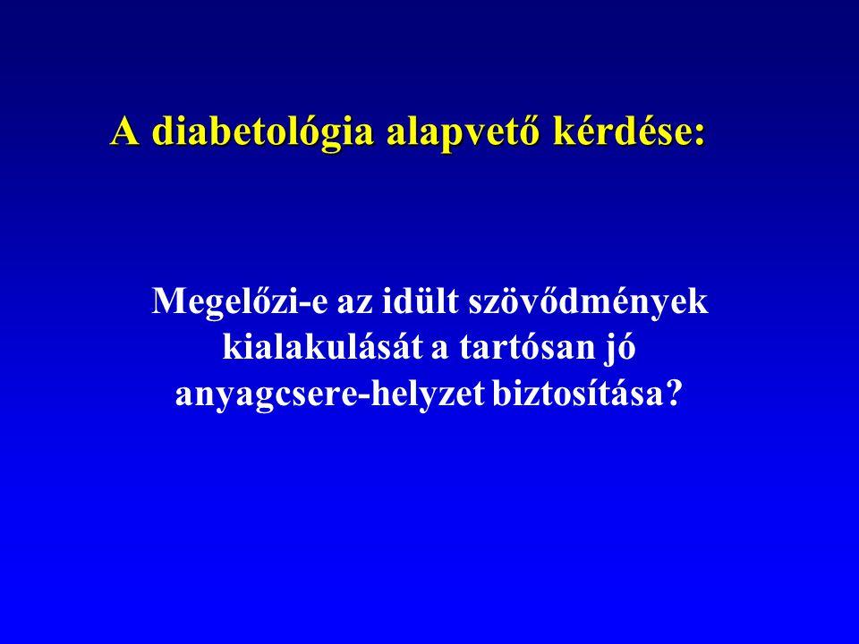 A diabetológia alapvető kérdése: