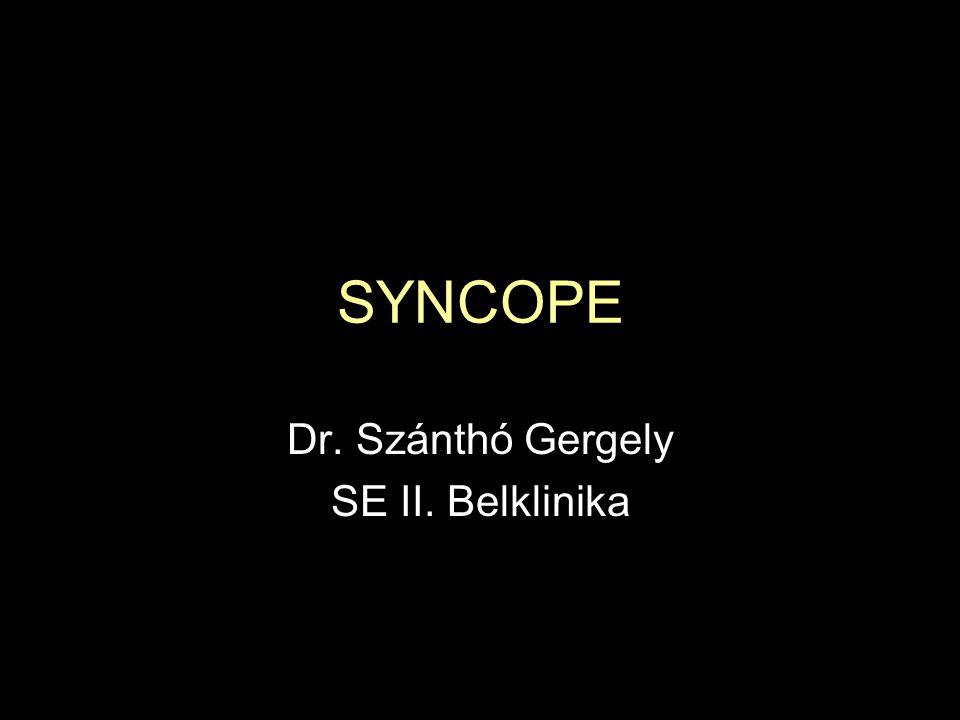 Dr. Szánthó Gergely SE II. Belklinika
