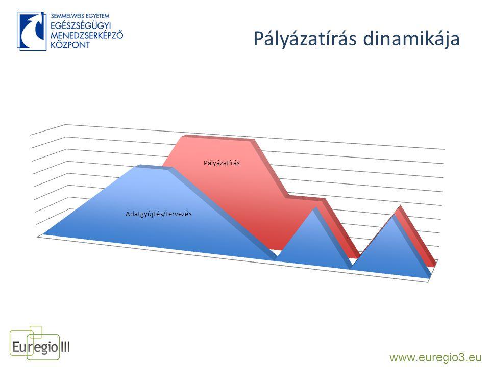 Pályázatírás dinamikája