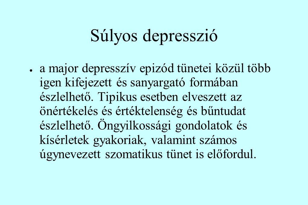 Súlyos depresszió