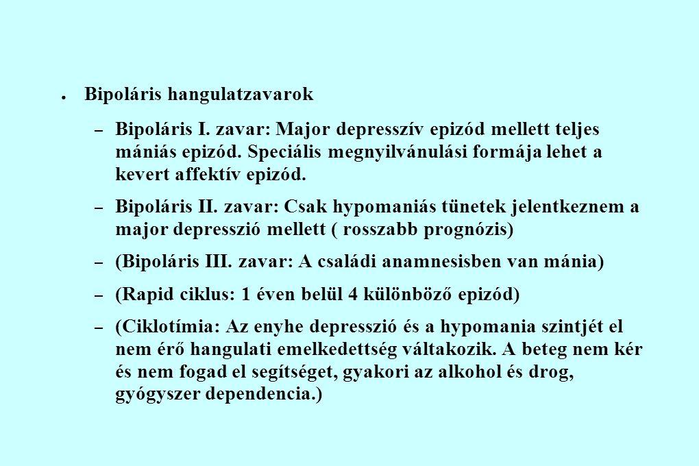 Bipoláris hangulatzavarok