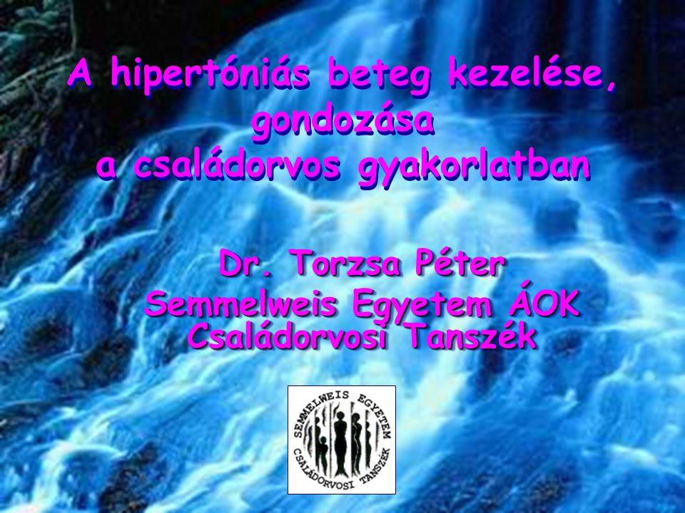A hipertóniás beteg kezelése, gondozása a családorvos gyakorlatban