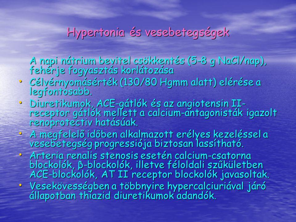 Hypertonia és vesebetegségek