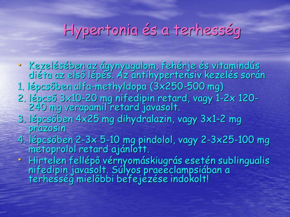 Hypertonia és a terhesség