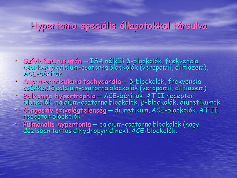 Hypertonia speciális állapotokkal társulva