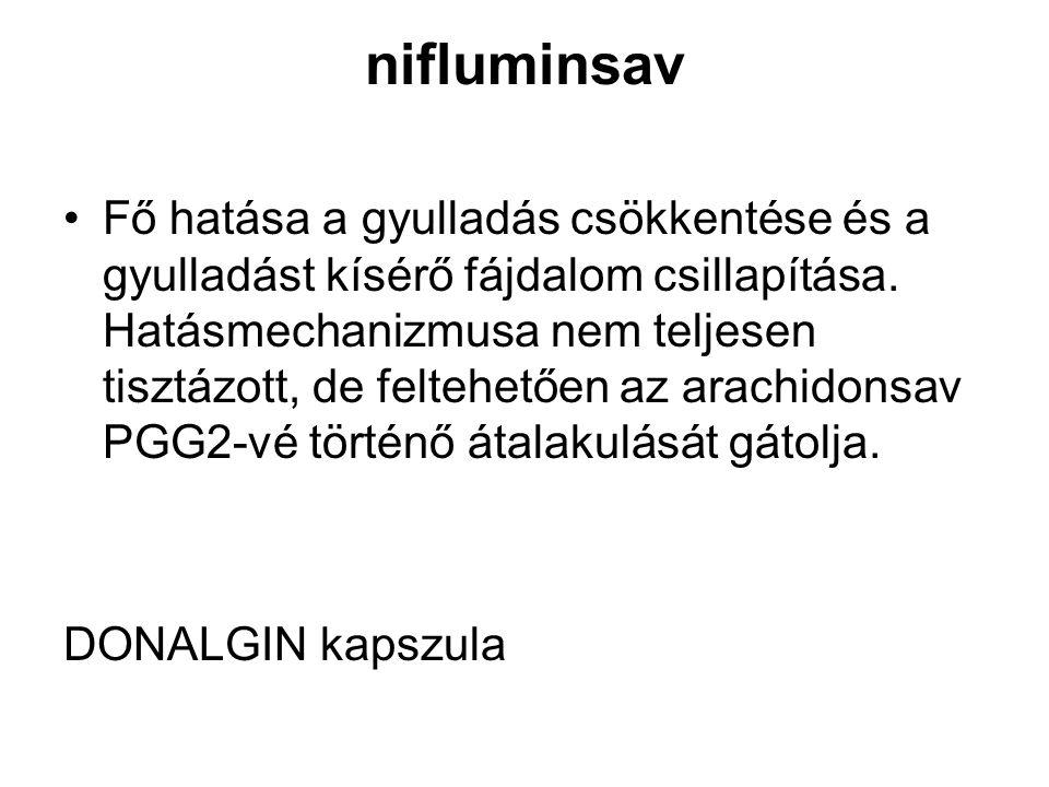 nifluminsav