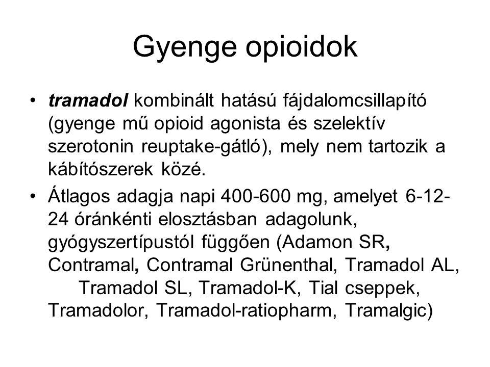 Gyenge opioidok