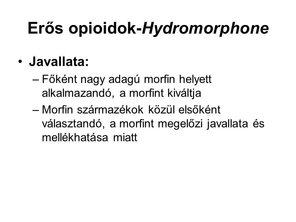 Erős opioidok-Hydromorphone