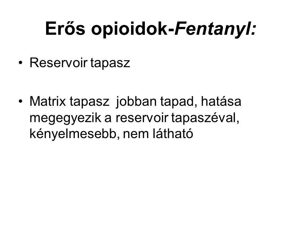 Erős opioidok-Fentanyl: