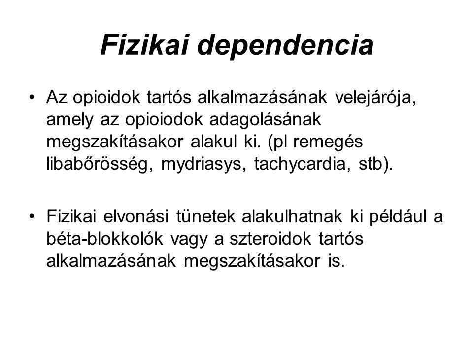 Fizikai dependencia