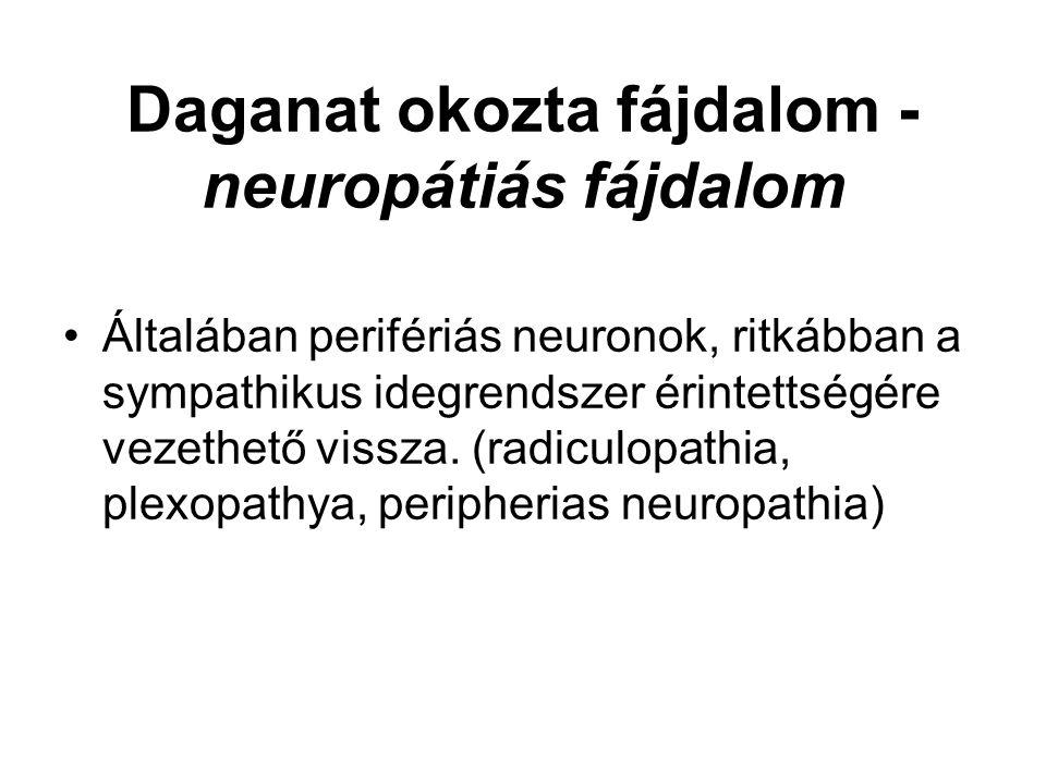 Daganat okozta fájdalom - neuropátiás fájdalom