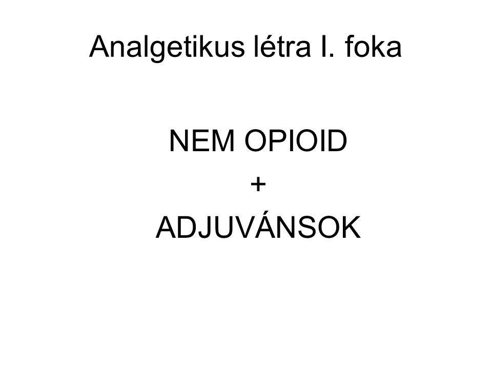 Analgetikus létra I. foka