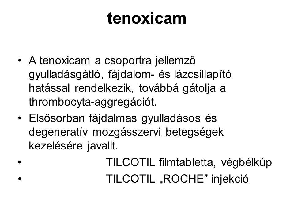 tenoxicam