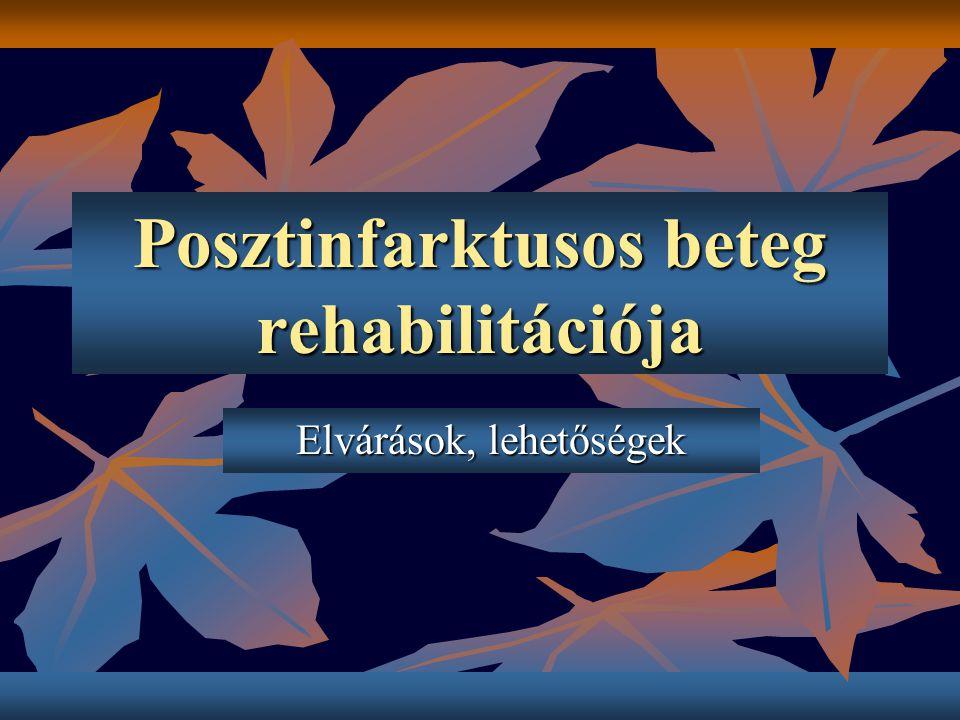 Posztinfarktusos beteg rehabilitációja