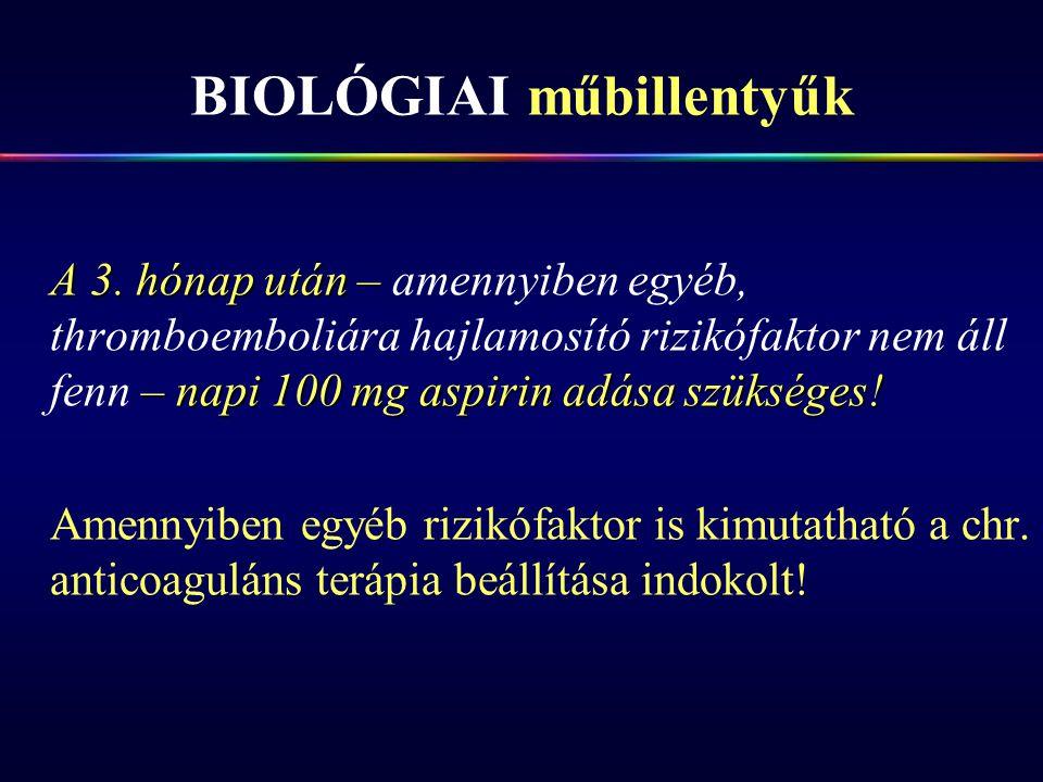 BIOLÓGIAI műbillentyűk