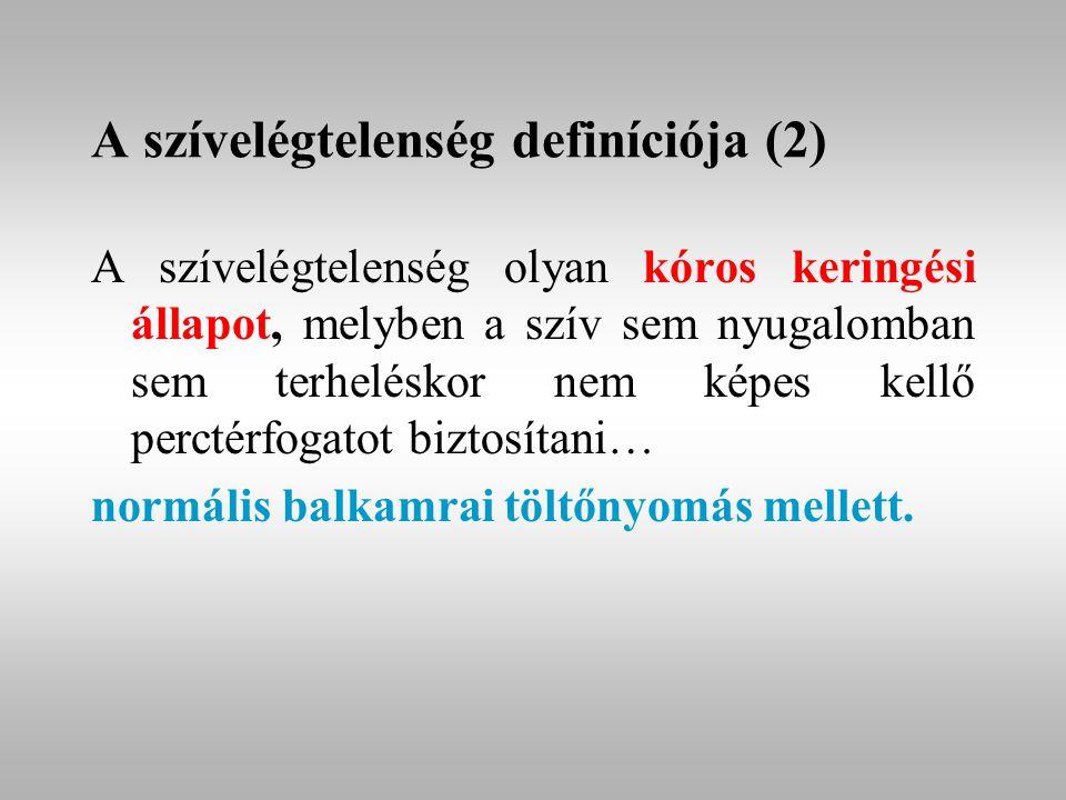 A szívelégtelenség definíciója (2)