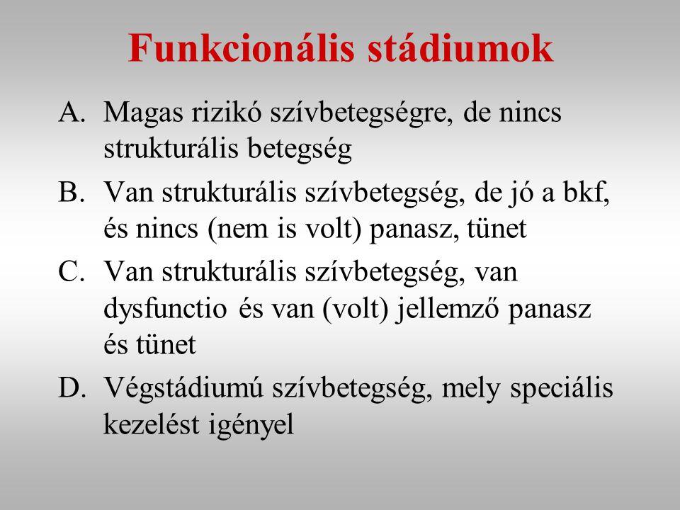 Funkcionális stádiumok