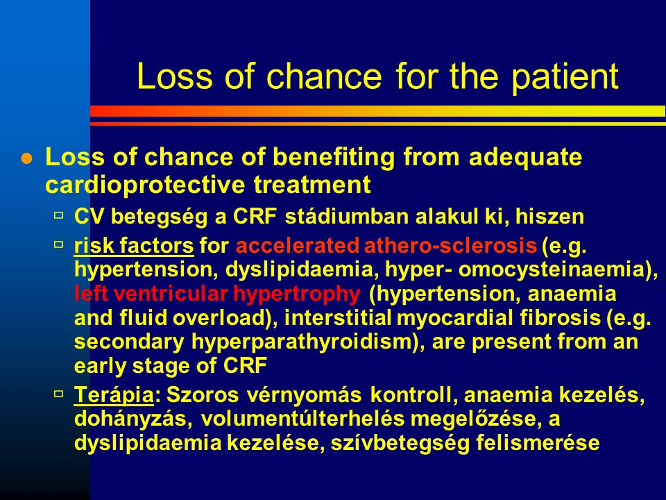 Loss of chance for the patient