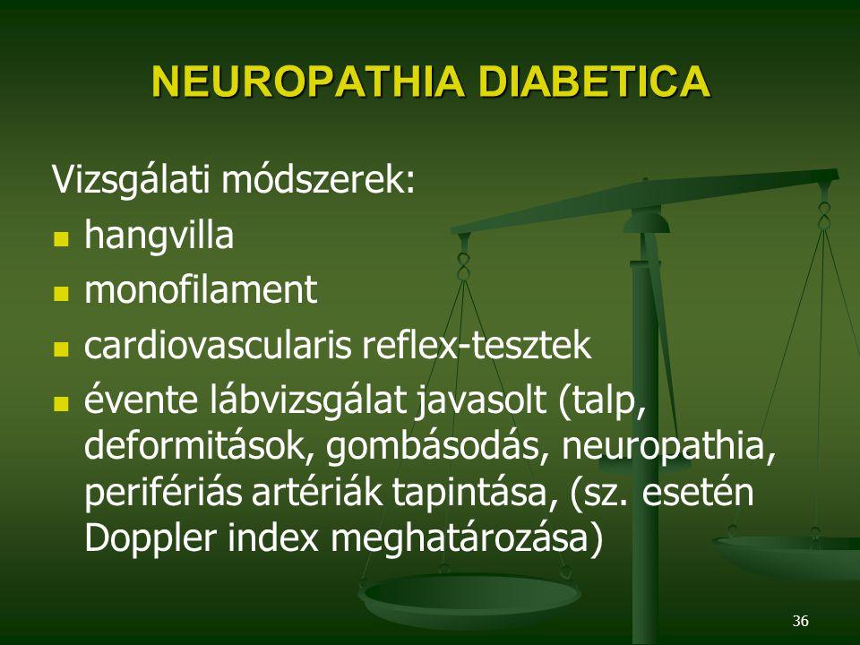 NEUROPATHIA DIABETICA