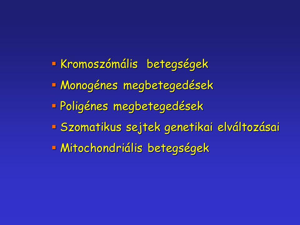 Kromoszómális betegségek