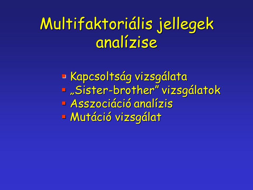 Multifaktoriális jellegek analízise