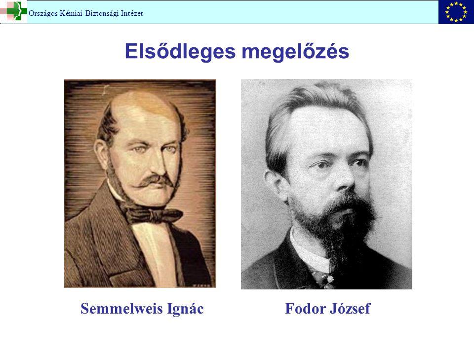 Elsődleges megelőzés Semmelweis Ignác Fodor József