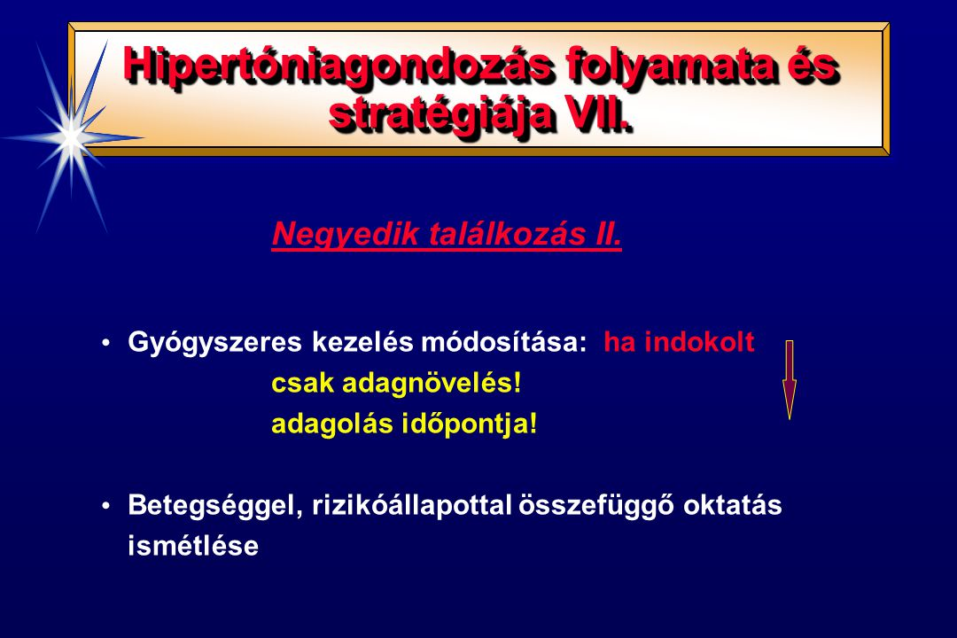 Hipertóniagondozás folyamata és stratégiája VII.