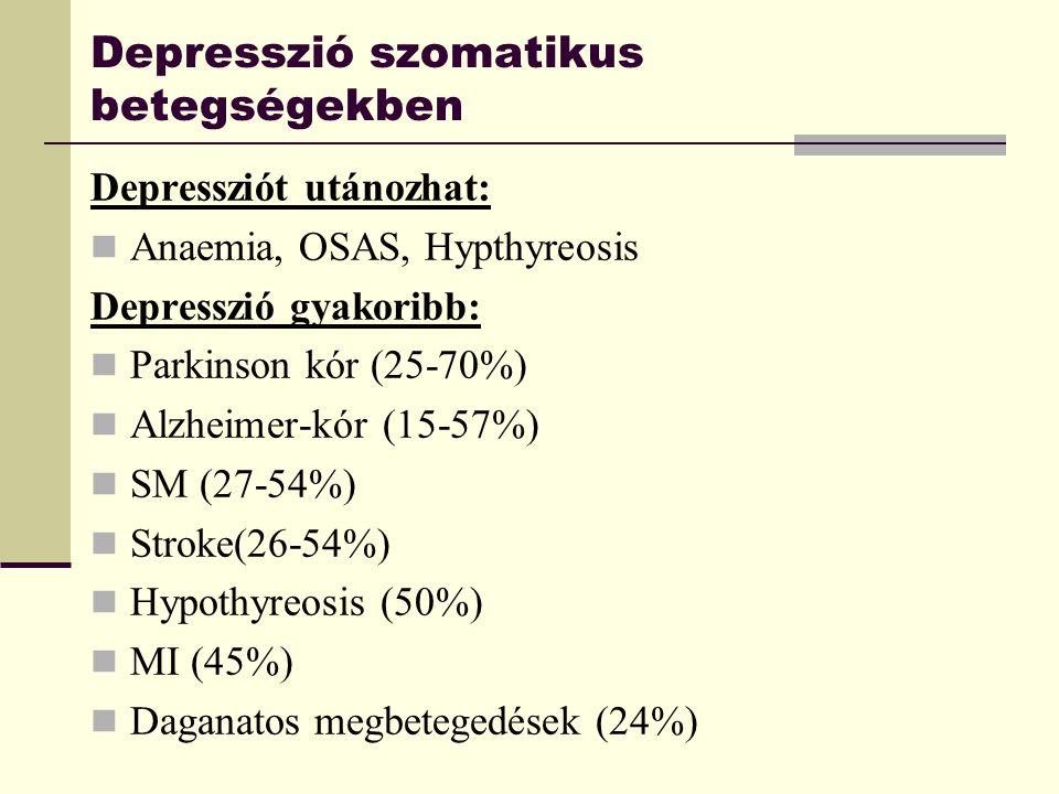 Depresszió szomatikus betegségekben