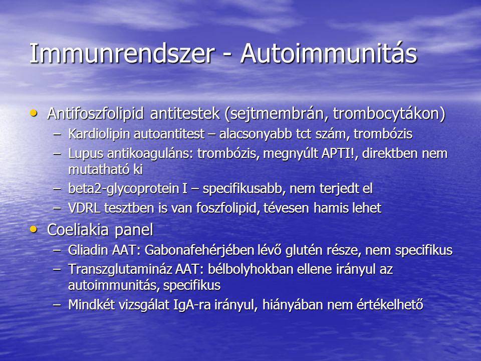 Immunrendszer - Autoimmunitás